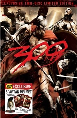 300 2-Disc Special Edition w/Helmet (Best Buy Exclusive)