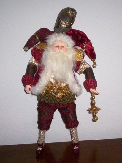 Jester Santa Doll is in your collection!