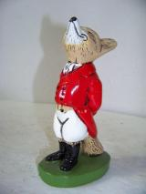 Fox Figurine Zinc Bottle Opener - Reynard the Fox (Snooty Fox in Hunting Garb)