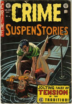 Crime Suspense Stories #23