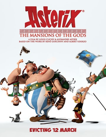 Asterix: The Mansions of the Gods (Asterix and Obelix: Mansion of the Gods )