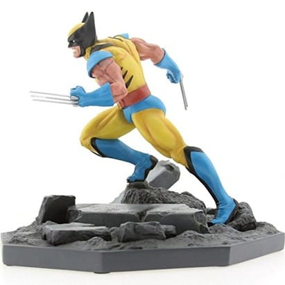 BAIT x Marvel Wolverine Statue By MINDstyle, Yellow