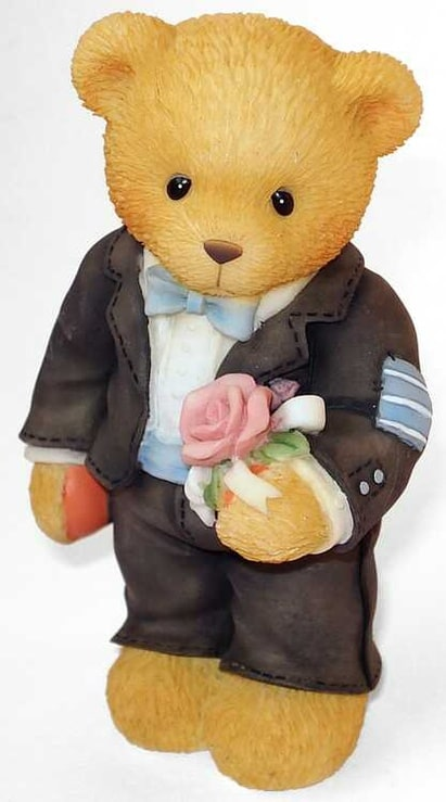 Cherished Teddies: Groomsman Figure -