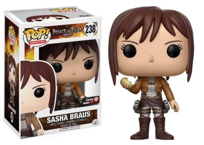 Attack On Titan Pop! Vinyl: Sasha Braus GameStop Exclusive