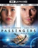 Passengers (4K Ultra HD + Blu-ray 3D + Blu-ray + Digital)