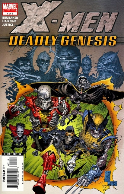X-Men Deadly Genesis (2006) 	#1-6 	Marvel 	2006