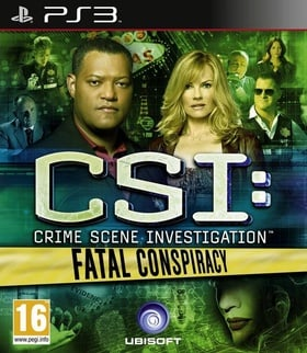 CSI Fatal Conspiracy (PS3) (UK)