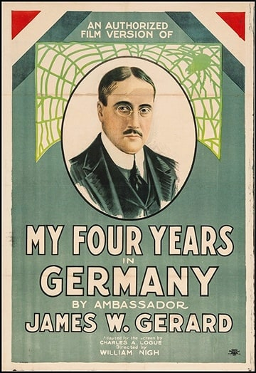 My Four Years in Germany                                  (1918)