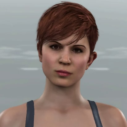 Brown-haired Traci (Detroit: Become Human)