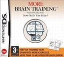 More Brain Training Dr. Kawashima How old is your Brain NDS  (Nintendo DS)
