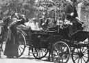 Pope Leo XIII in His Carriage