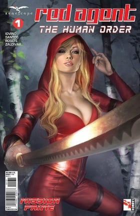 Grimm Fairy Tales Presents: Red Agent - The Human Order