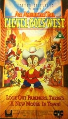 American Tail 2-Fievel Goes West [VHS] [1991]