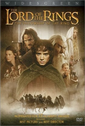 The Lord of the Rings - The Fellowship of the Ring (Widescreen Edition)