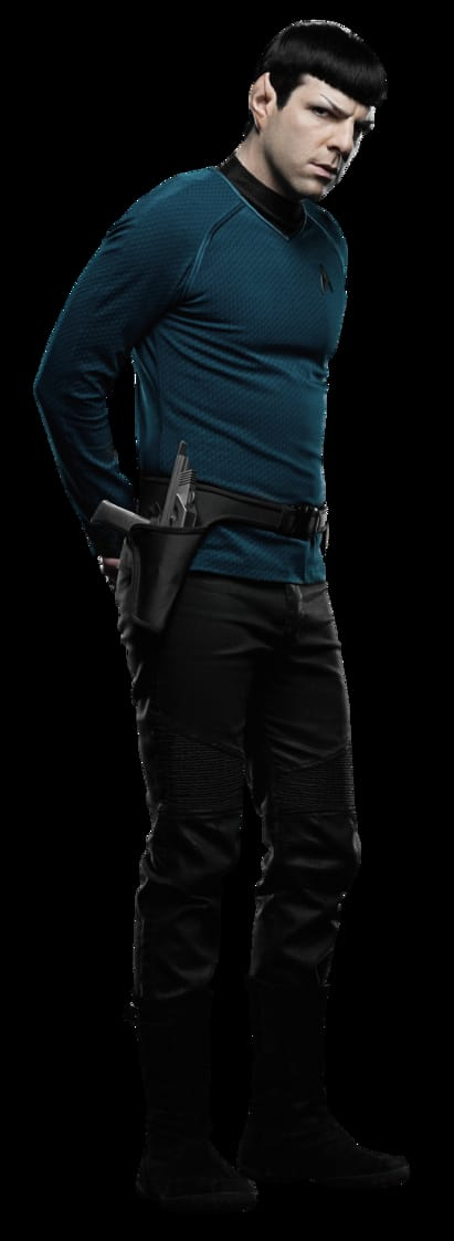 Spock (Zachary Quinto)
